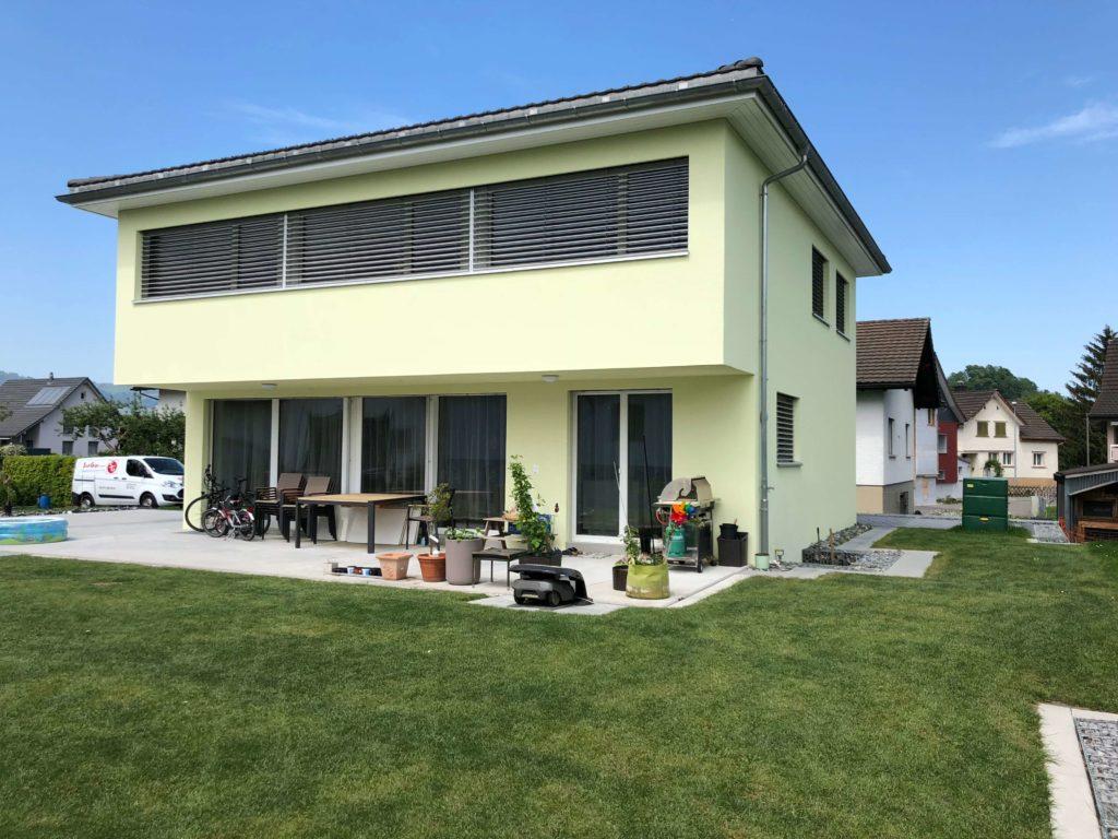 Neubau EFH in Montlingen SG