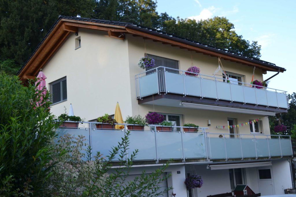 Neubau EFH in Rebstein