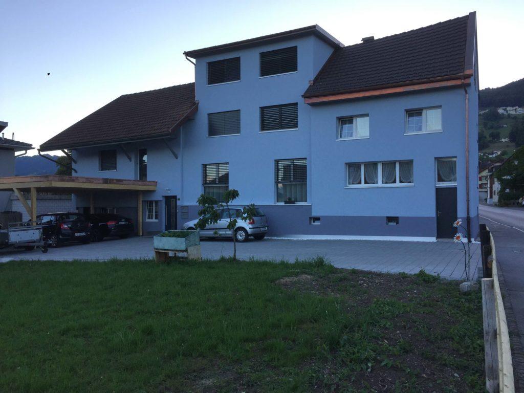 Umbau MFH in Rebstein