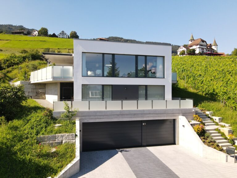 Neubau EFH in Marbach SG